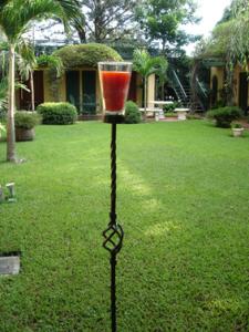 Antorcha de vela for Antorchas jardin